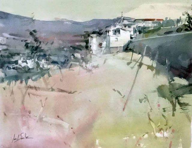 Concurso de pintura al aire libre La Comarca Alpujarreña.