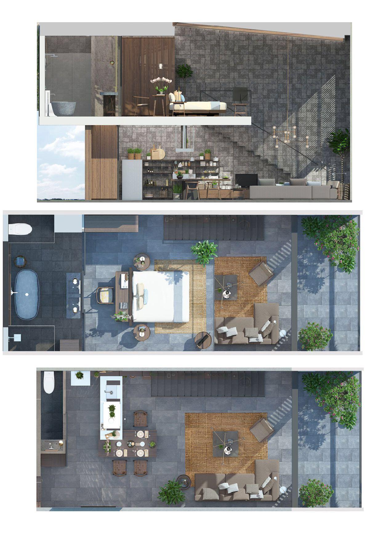 X2 Hoi An Resort Residence House Layouts Resort Design Plan Modern House Exterior