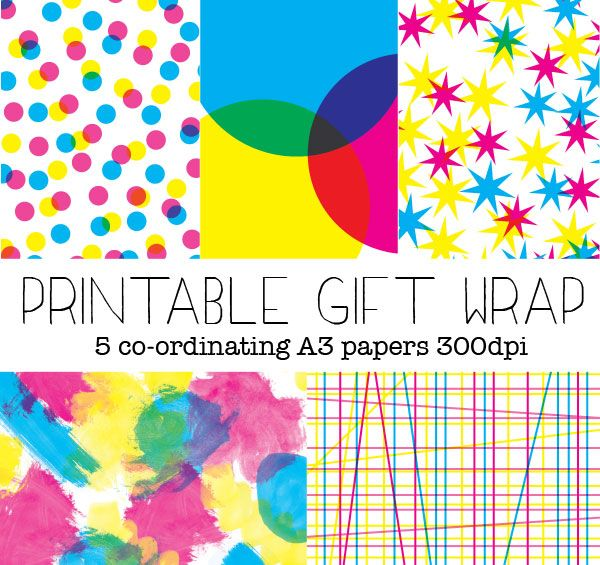 graphic about Printable Gift Wrapper referred to as Printable Present Wrapping Paper Enjoyable Present Wrapping Options