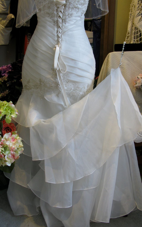Wrist loop | Wedding dress train, Wedding dress bustle