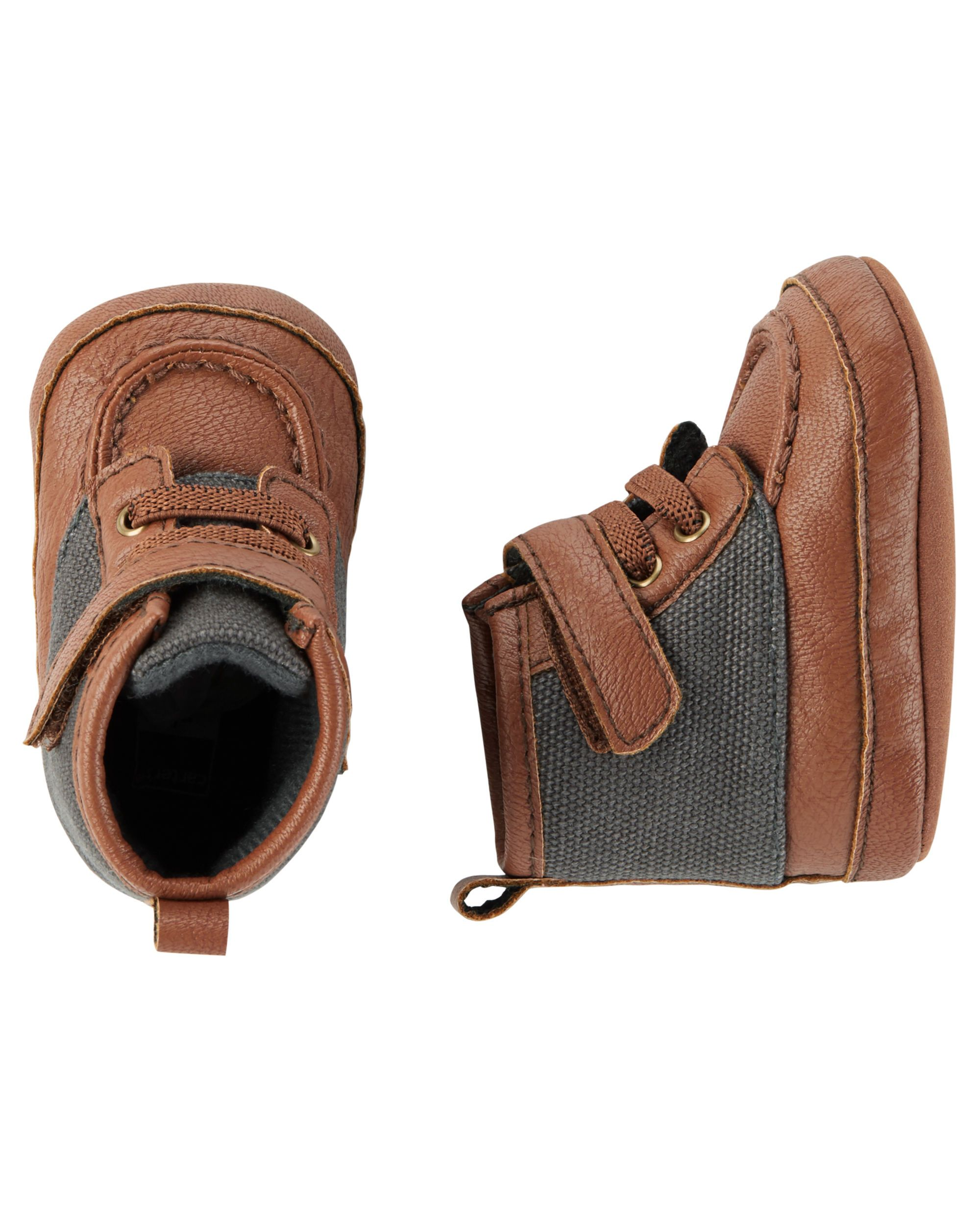 f9508c836 Baby Boy Hiking Boot Crib Shoes | Carter's OshKosh Canada | Snow ...