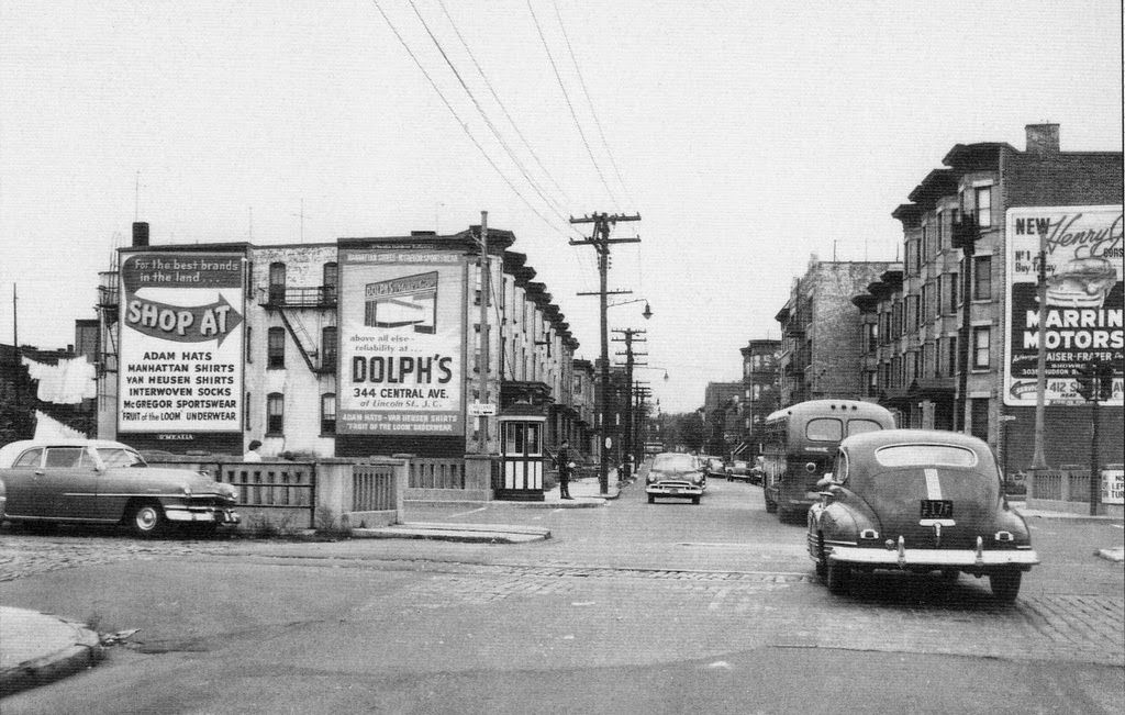 Streets Of Jersey City New Jersey Ca 1940s 1950s Jersey City City Pictures City