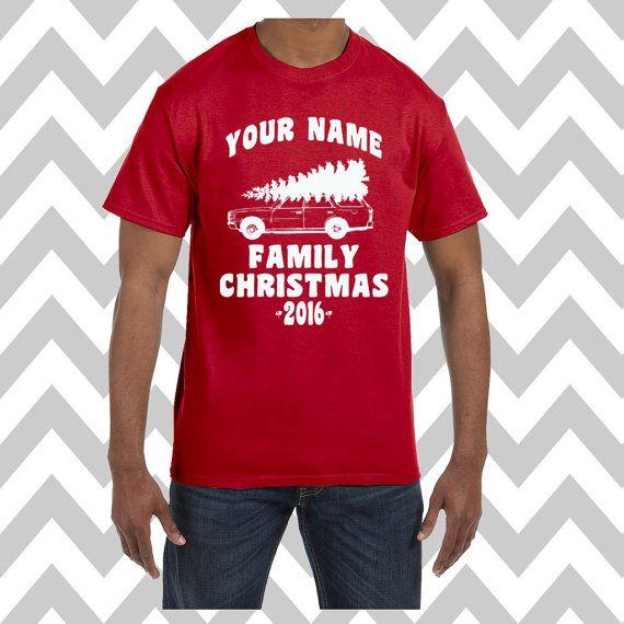 Custom Griswold Family Christmas Ugly Christmas Shirt Unisex T-Shirt