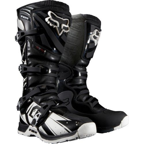 Fox Racing Comp 5 Undertow Youth Boys Mx Off Road Dirt Bike Motorcycle Boots Dirt Bike Boots Bike Boots Racing Boots