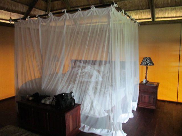 Luxury Accommodation in the bush at Nehimba Safari Lodge.