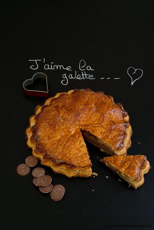 Galette Des Rois Au Chocolat Dreikonigsfest Kuchen Mit Schokolade