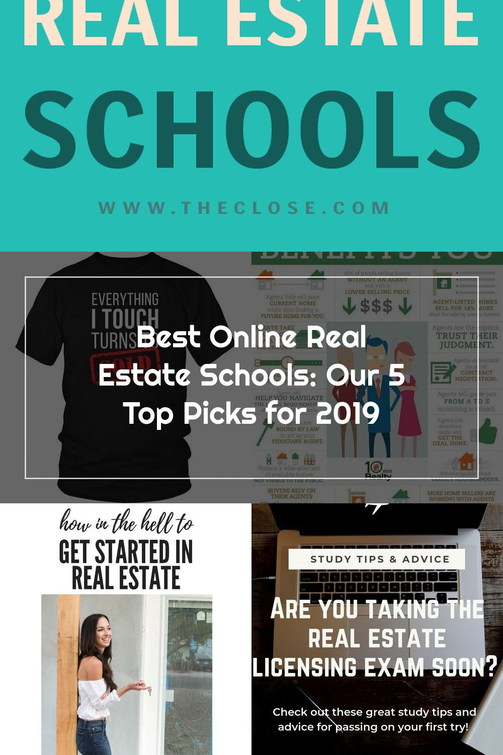 We Put Together This List Of The 5 Best Online Real Estate Schools And Incl Real Estate School Online Real Estate Real Estate Tips