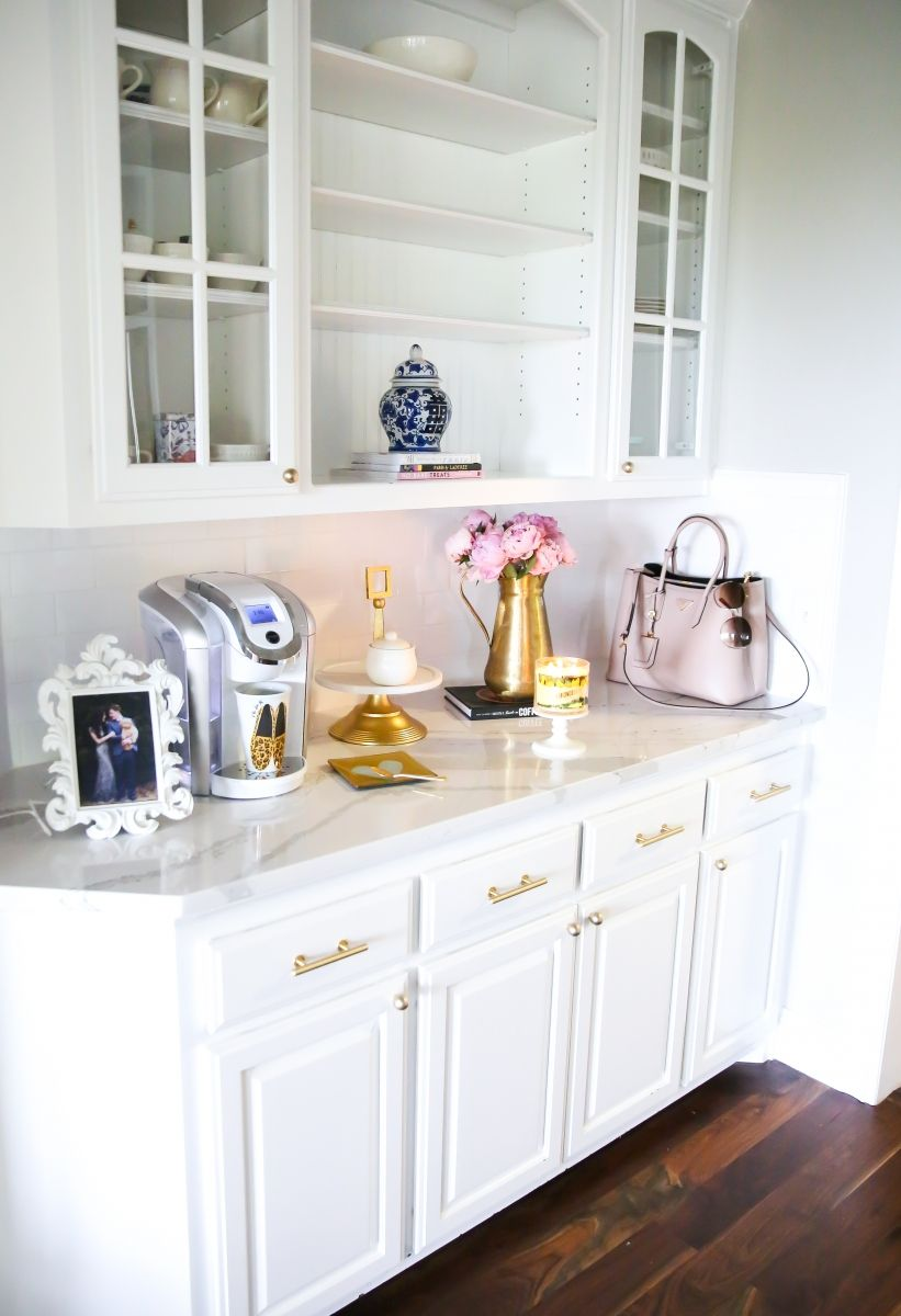 All White Kitchen Emily Gemma Kitchen Emily Gemma Prada Bag Cambria Quartz