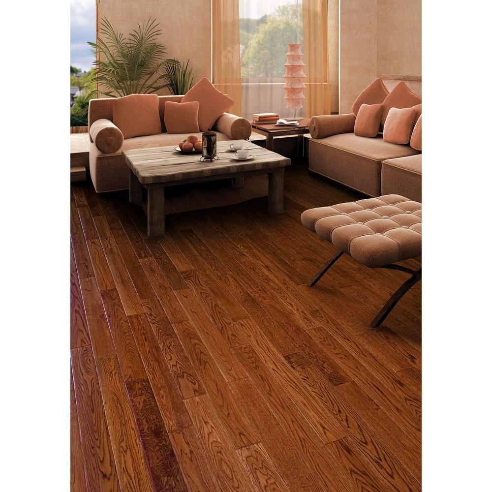 Home Legend Gunstock Oak 3 8 In Thick X 5 In Wide X Varying Length Click Lock Hardwood Flooring 19 686 Sq Ft Case Hl324h The Home Depot Engineered Hardwood Flooring Hardwood Floors Engineered Hardwood