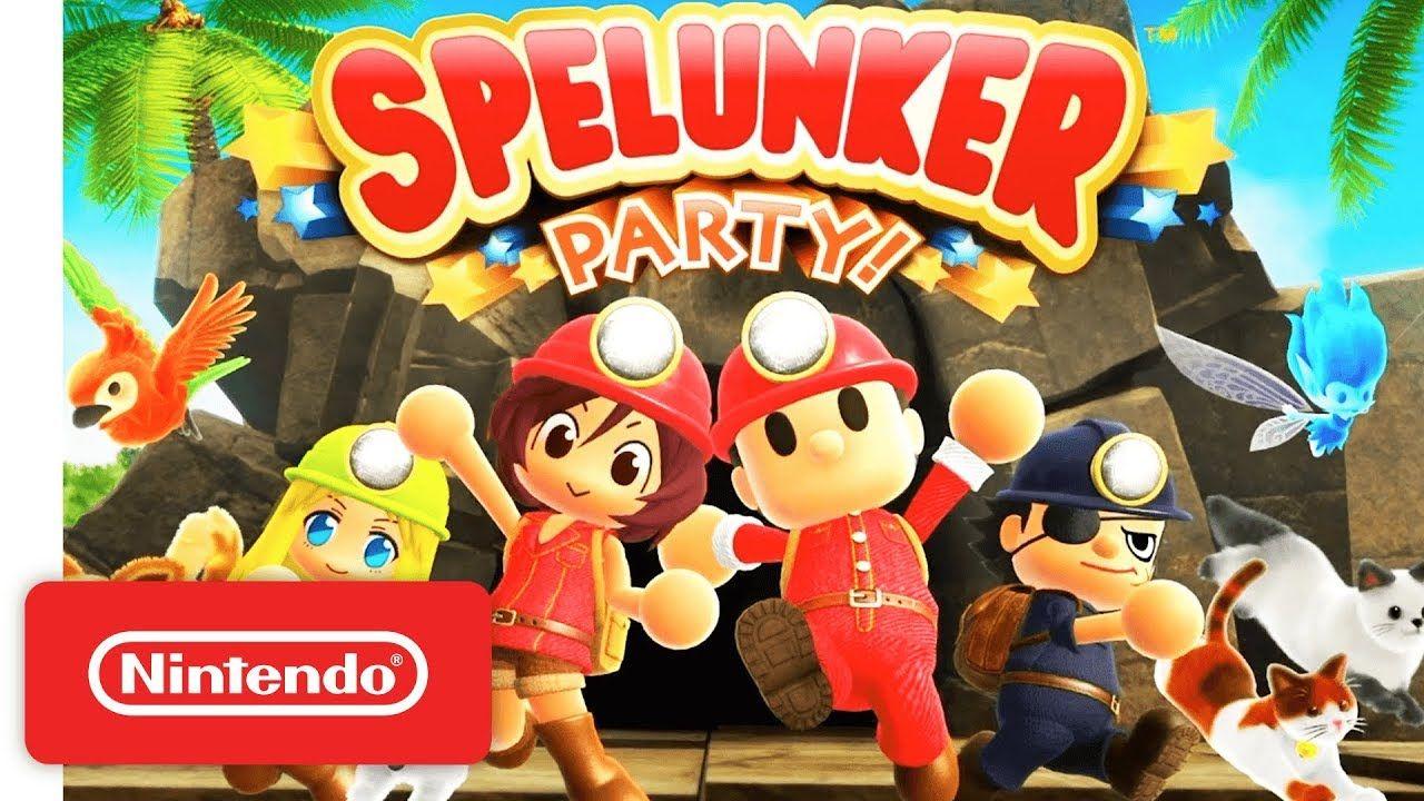 Spelunker Party! Spelunker Fun for Everyone Nintendo