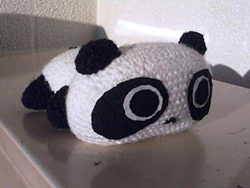 Amigurumi Oso Panda Patron : Tarepanda amigurumi patrón gratis en español aquí