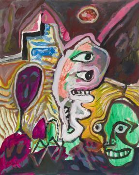 Lucebert Galerie Schoots Idee Verf Kunstenaar Artwork
