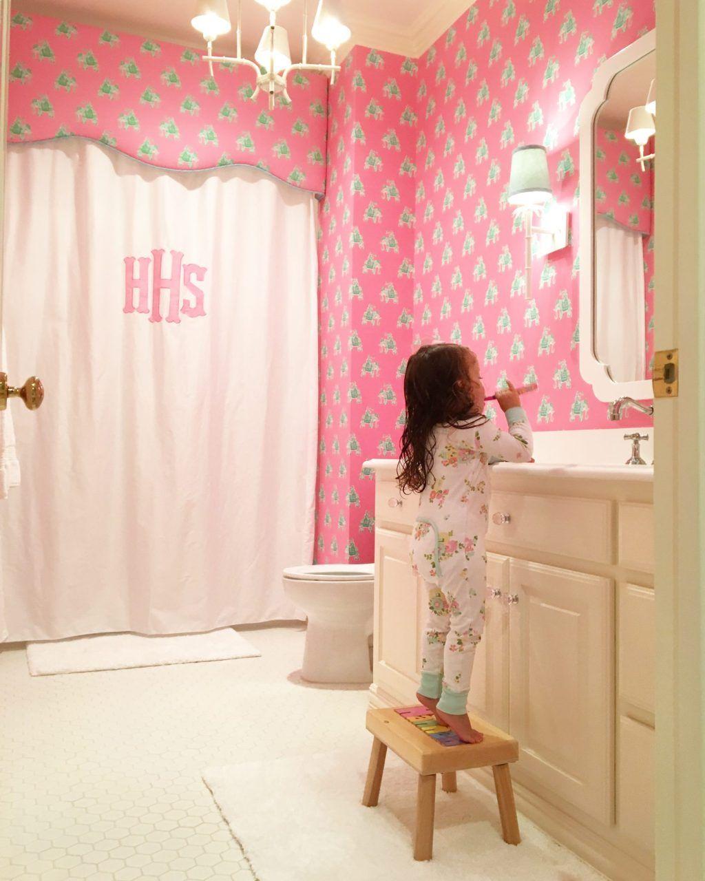 Lame Pvc Salle De Bain Avis ~ a glamorous yet kid friendly dallas home les salles de bain la