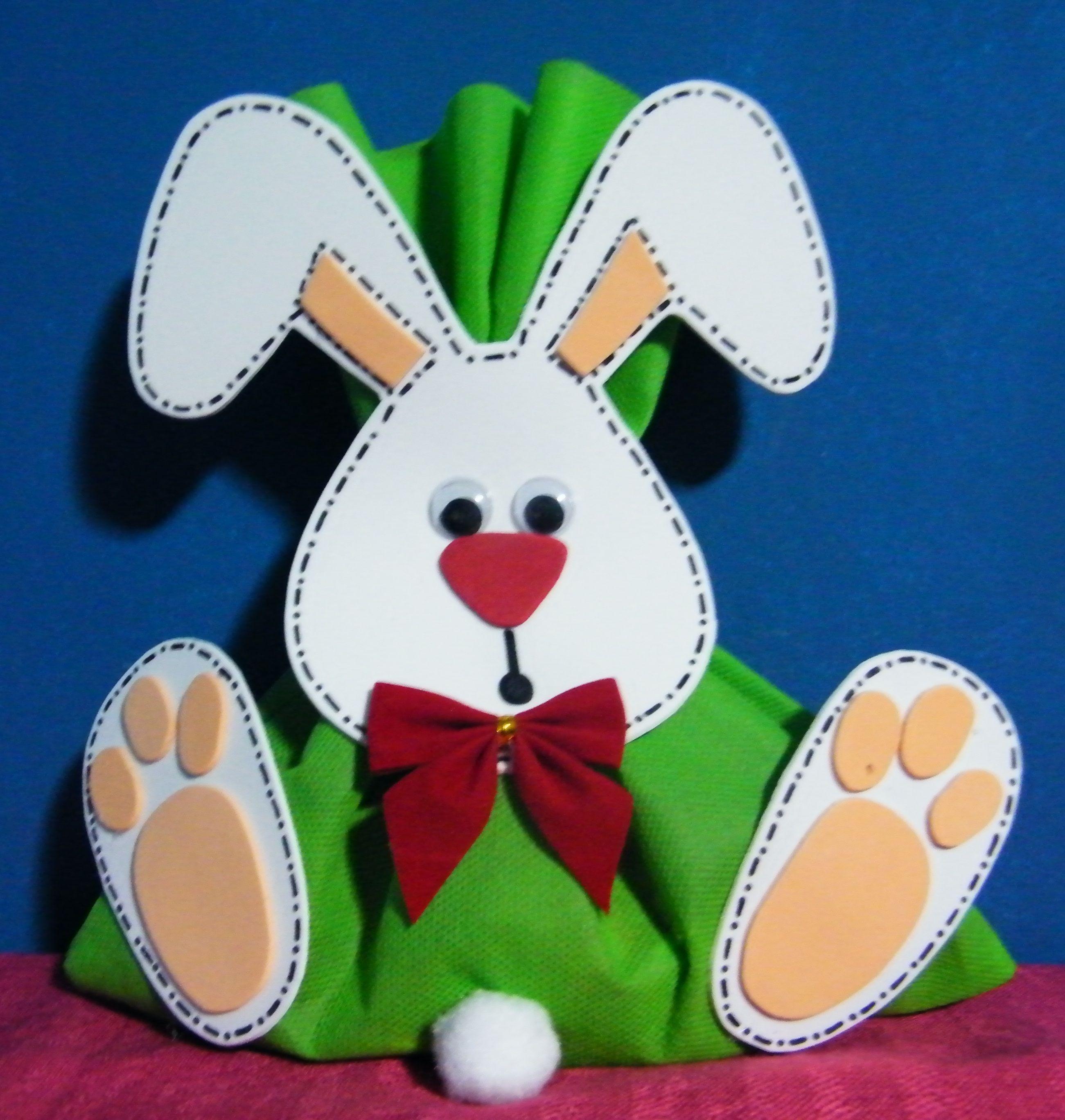Conejo para pascua de resurrecci n to a manualidades for Manualidades pascua