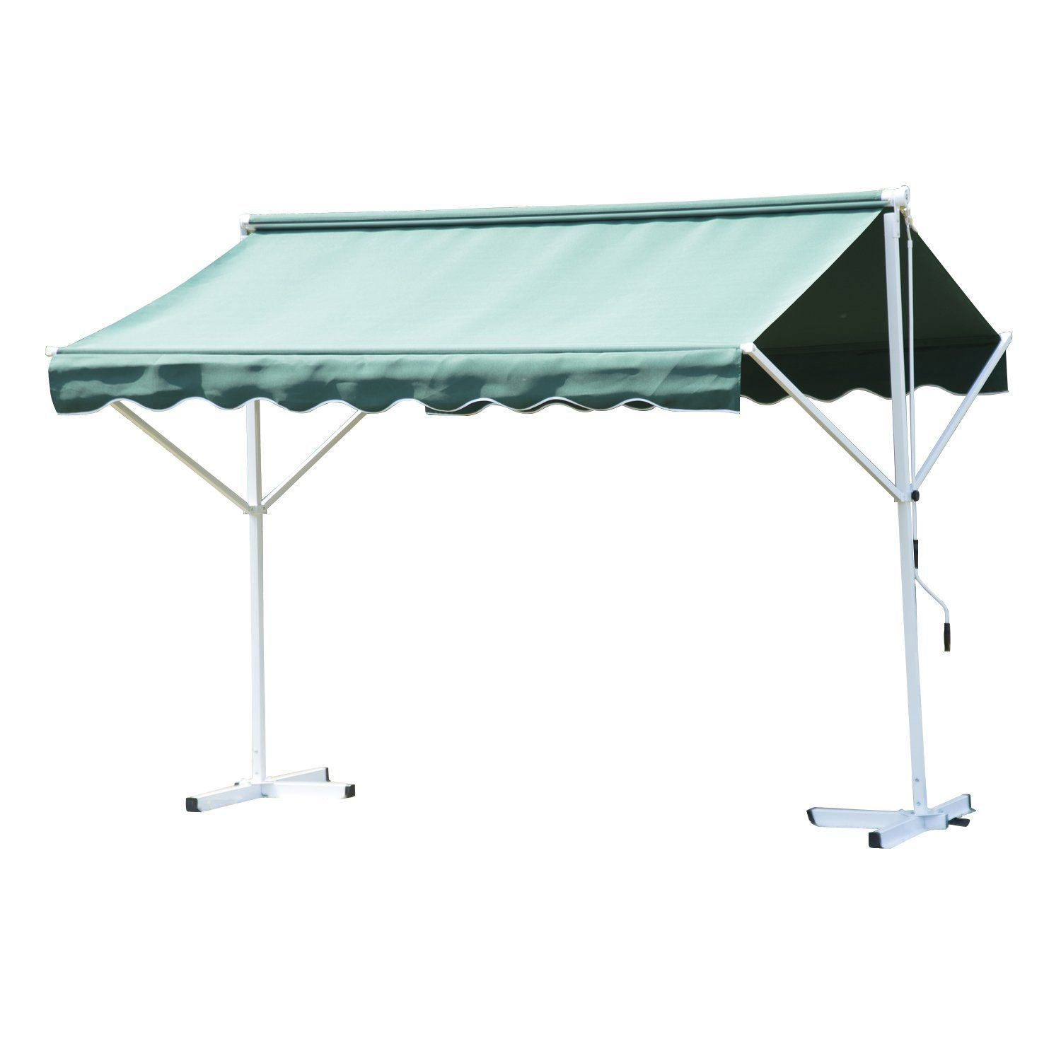 canopy awning gazebo waterproof shade metal x patio garden curtains outdoor roof living dci outsunny