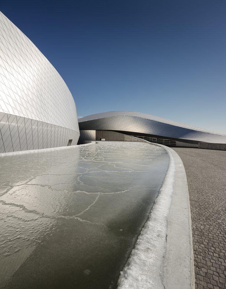 Copenaghen: apre oggi il più grande acquario del nord Europa - The Blue Planet by 3XN