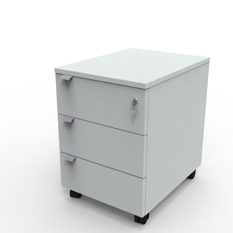 Caisson Pour Bureau A 3 Tiroirs Et Livre En Kit Dans Votre Entreprise Caisson De Rangement Rangement Bois Rangement