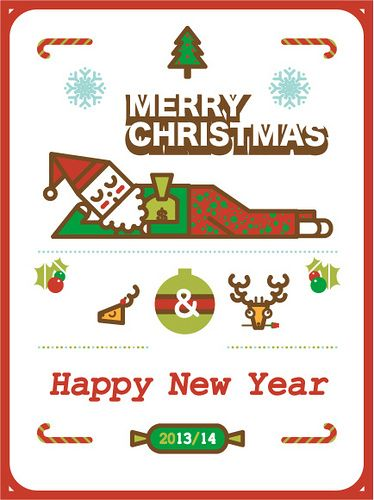 MERRY CHRISTMAS & Happy New Year  Illustration by me