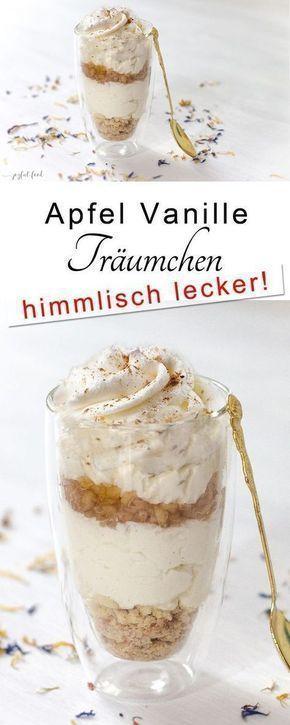 Apfel Vanille Träumchen   Joyful Food - Deon&DessertMP