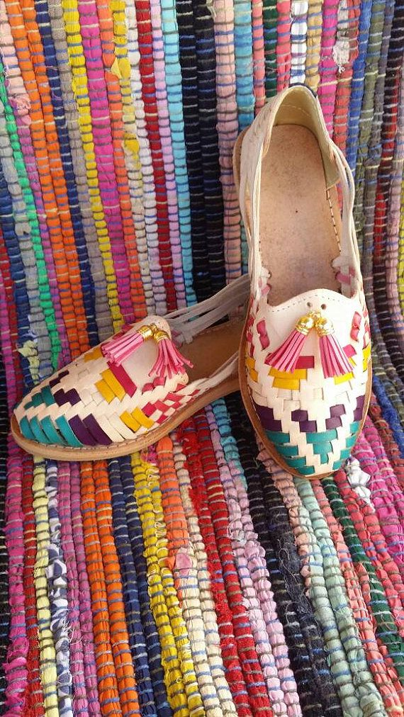 6f14b9665fa Huarache Sandals for Women Colorful Womens by artesanoslaraza ...