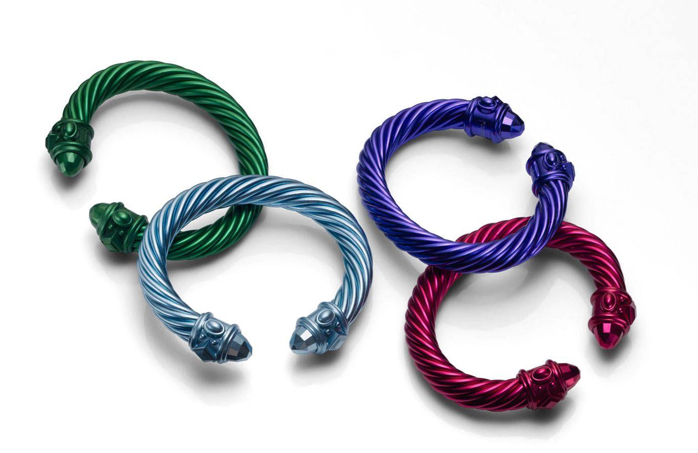 David Yurman bracelets, in stores in February 2014.