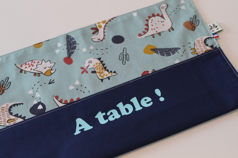 Serviette De Table Personnalisee Message A Table Prenom Enfant
