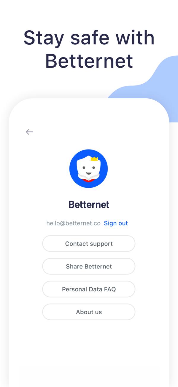 Best Vpn Proxy Betternet On The App Store Best Vpn Download Free App Data Network