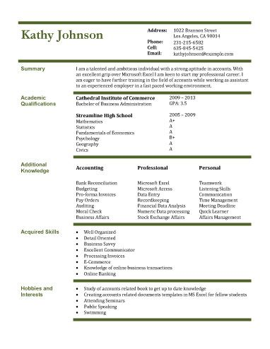 Accounting-Assistant school Pinterest Resume, Templates and - accountant assistant resume