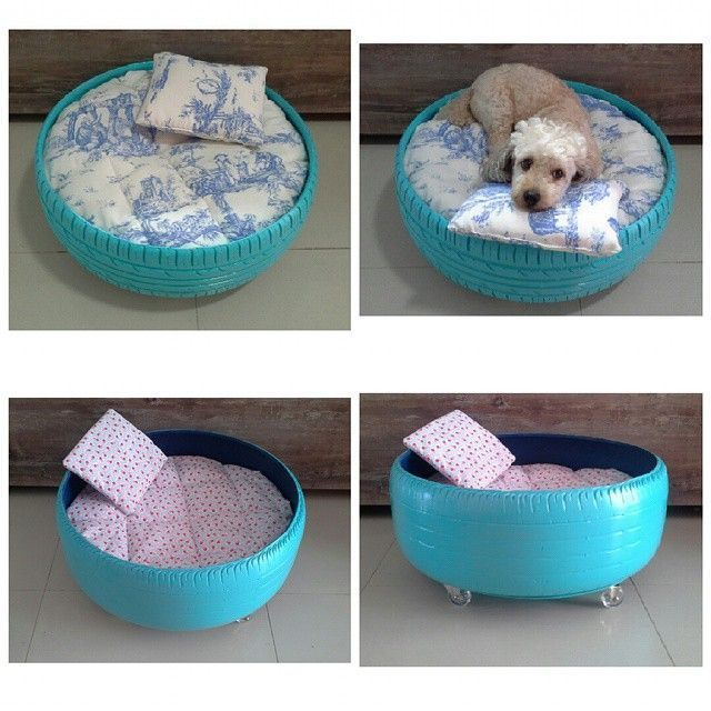 20 Pet Beds From Used Tires Diy