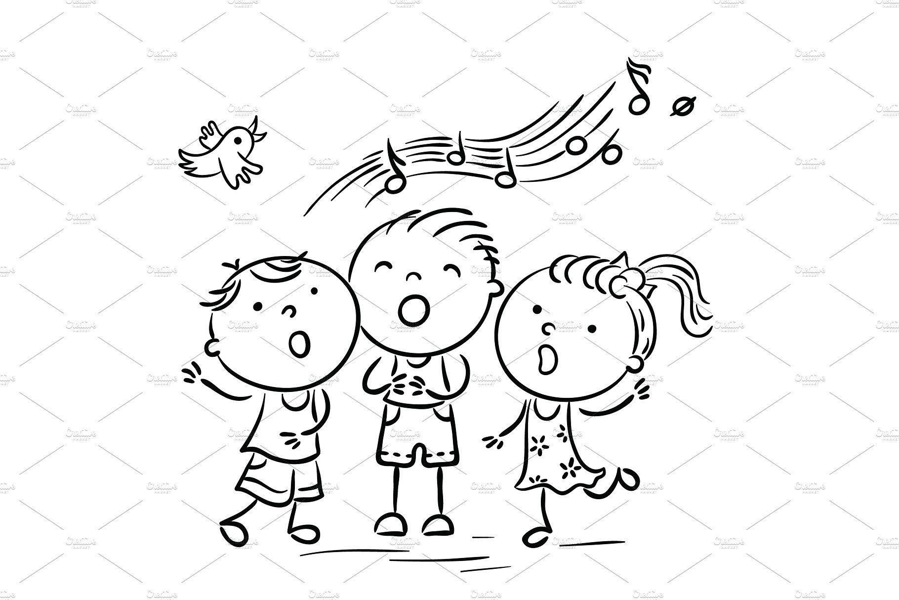 Children Singing Songs (With images) Songs, Singing