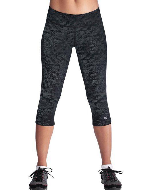 e3dde866fe23 Champion Women s Absolute Workout Capri Legging at Amazon Women s Clothing  store  Workout Pants
