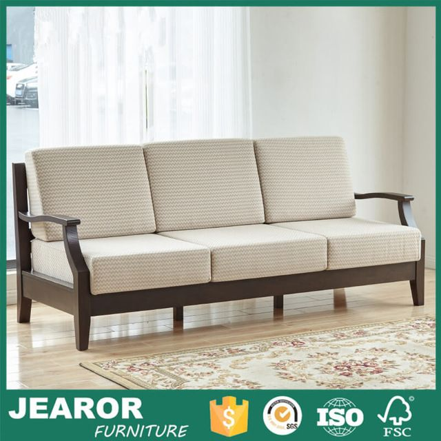 Source North American Rustic Solid Ash Wood 3 Seater Sofa Single Wooden Frame Sofa 3001 On M Alibaba Com Wooden Sofa Designs Furniture Sofa Design