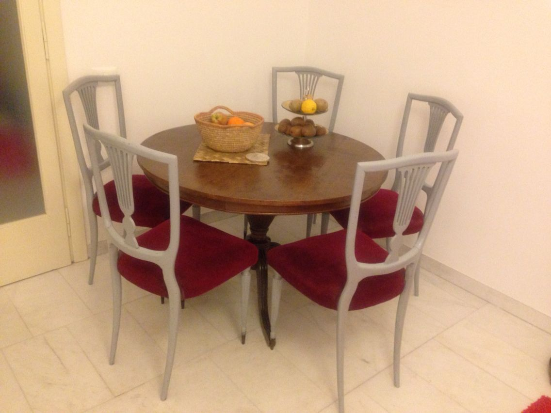 Free sedie stile direttorio vestite di grigio with sedie for Sedie vestite