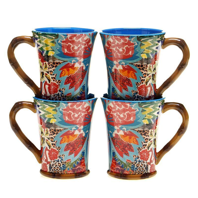 Tracy Porter Magpie 4-pc. Coffee Mug Set | Magpie, Coffee and Products