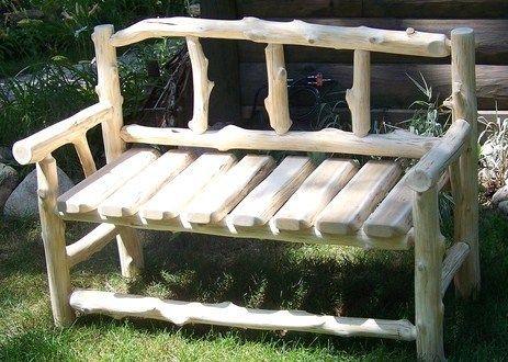 Quoi de plus agréable que d\u0027avoir un joli banc en bois dans le - plan pour fabriquer un banc de jardin