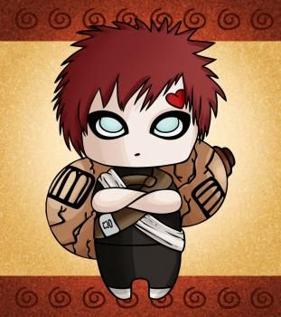 How To Draw Chibi Gaara By Dawn With Images Chibi Drawings