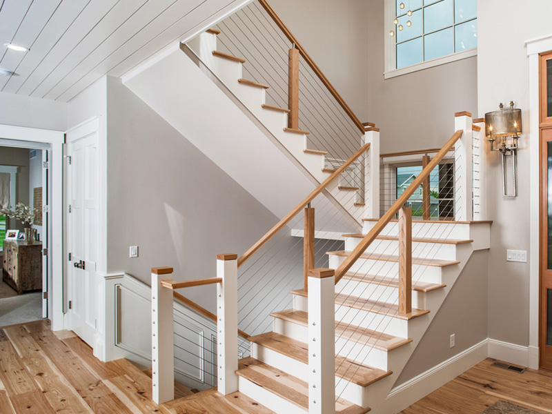 Love This Modern Staircase Design Luxury House Plans House Plans House Plans And More