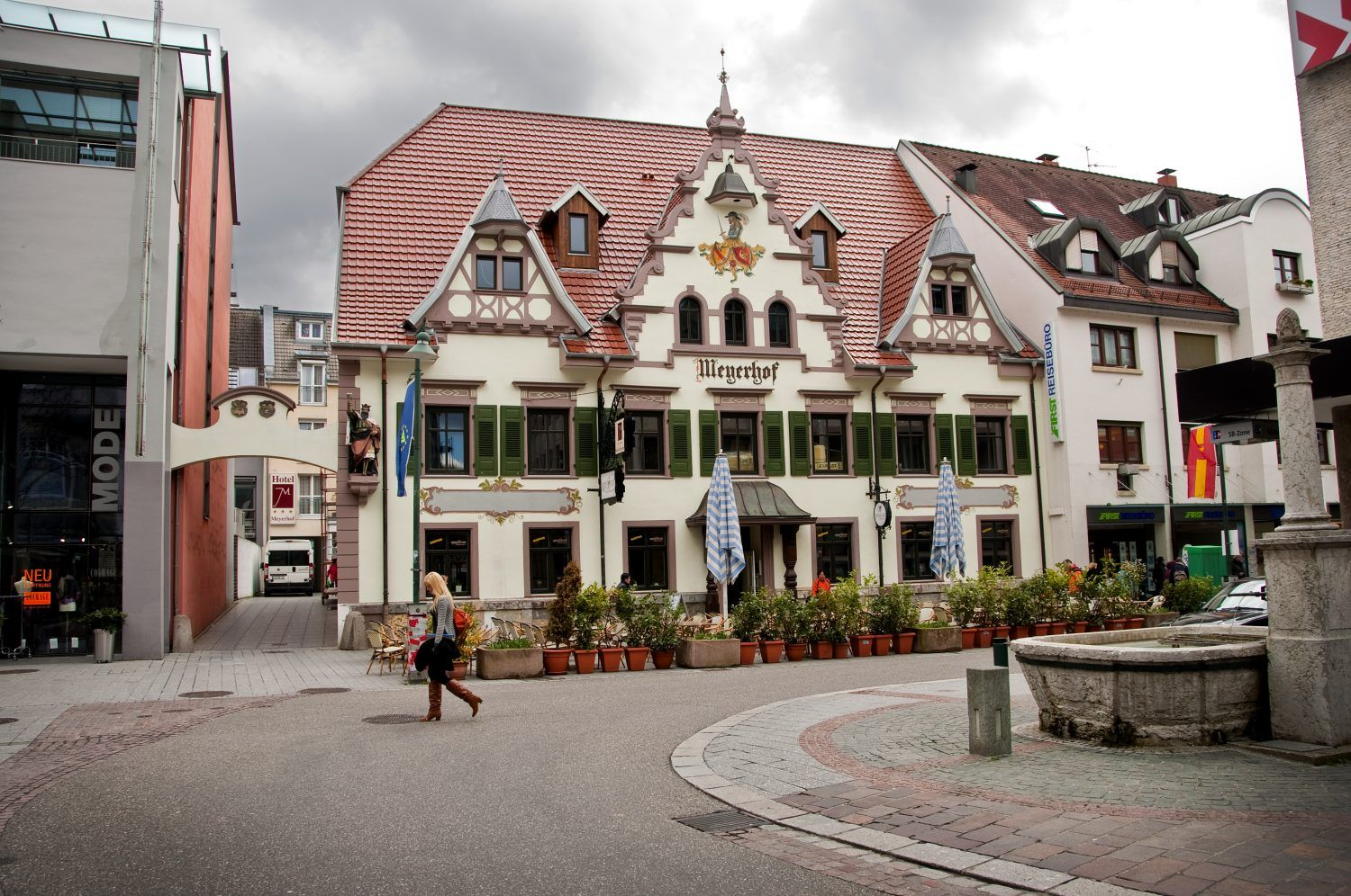 Lörrach, Baden-Württenberg, Germany (stayed in an apartment at this place, back in '78).