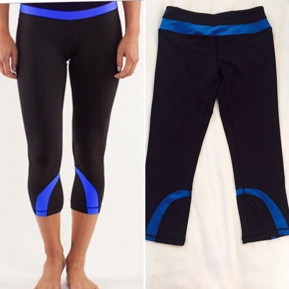 """ARRIVAL NEW WITH TAGS LULULEMON SABRINA PANT """"These no fuss versatile crops were designed to fit like a second skin, perfect! Our moisture wicking fabric us breathable and cottony. We love this fabric in its stretch and receivers in all our sweaty pursuits. Small hidden pocket is tucked into a waistband for a key or card. Flat seamed for comfort. Tight fit medium rise. I have sizes 6 and 8  lululemon athletica Pants"""