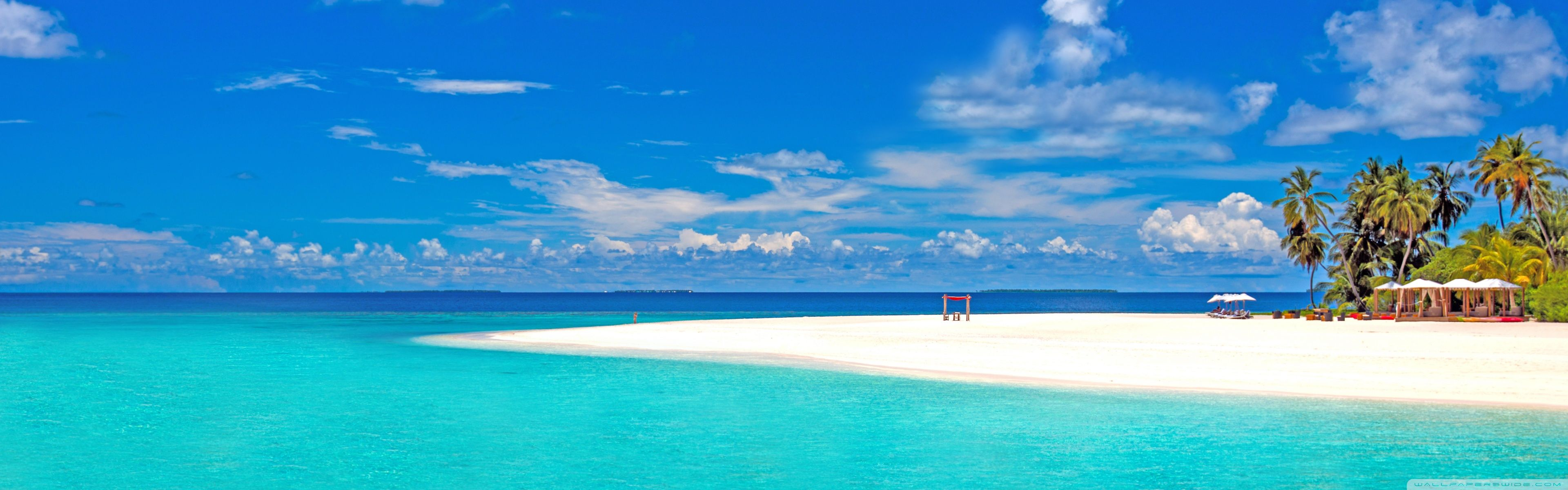 Tropical Beach Hd Desktop Wallpaper Fullscreen Mobile Dual Beach Wallpaper Landscape Wallpaper Beach