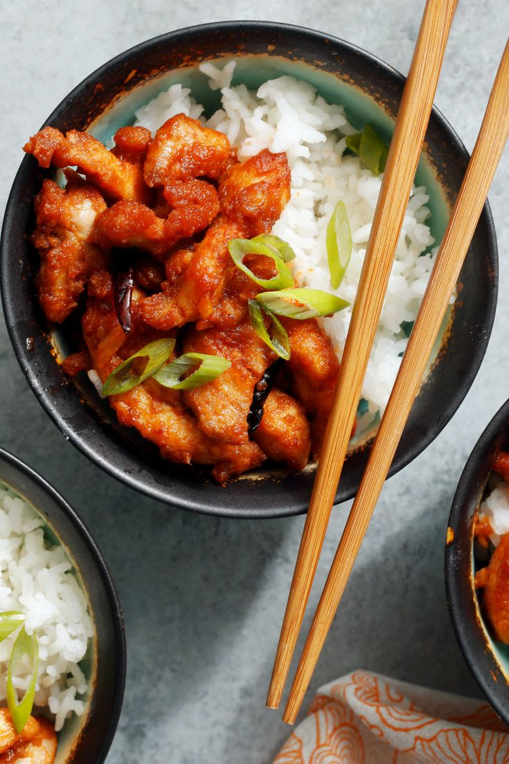General Tso S Chicken Recipe Chinese Dishes Nyt Cooking