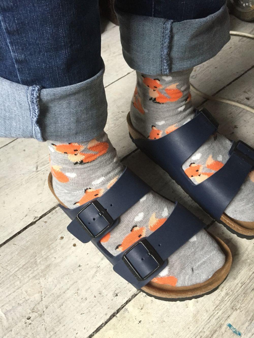 Foxy socks and Birkenstocks part 3❤️ | Socks, sandals