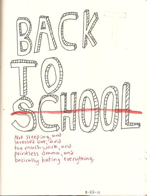 Back To School Tumblr Recherche Google School Cosas Graciosas