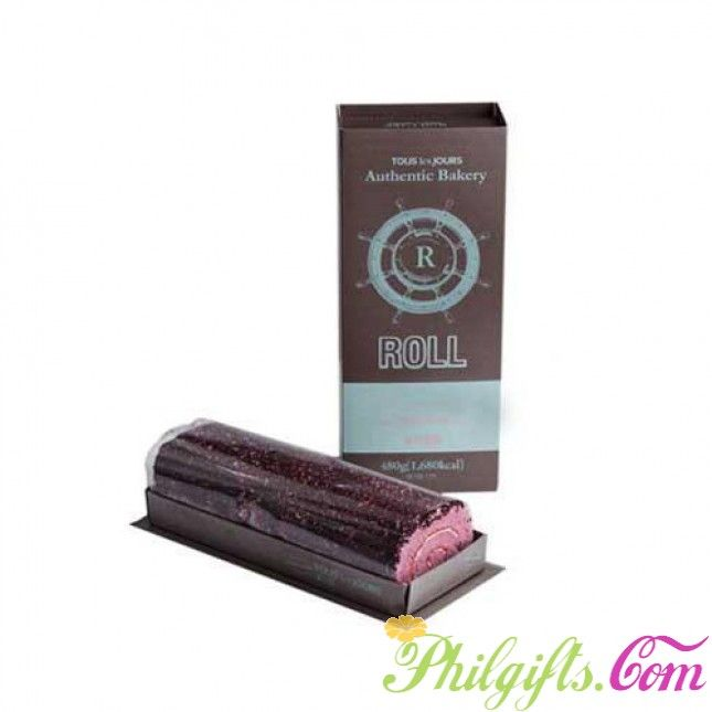 KISS BLUEBERRY ROLL by Tous les Jours http//www.philgifts