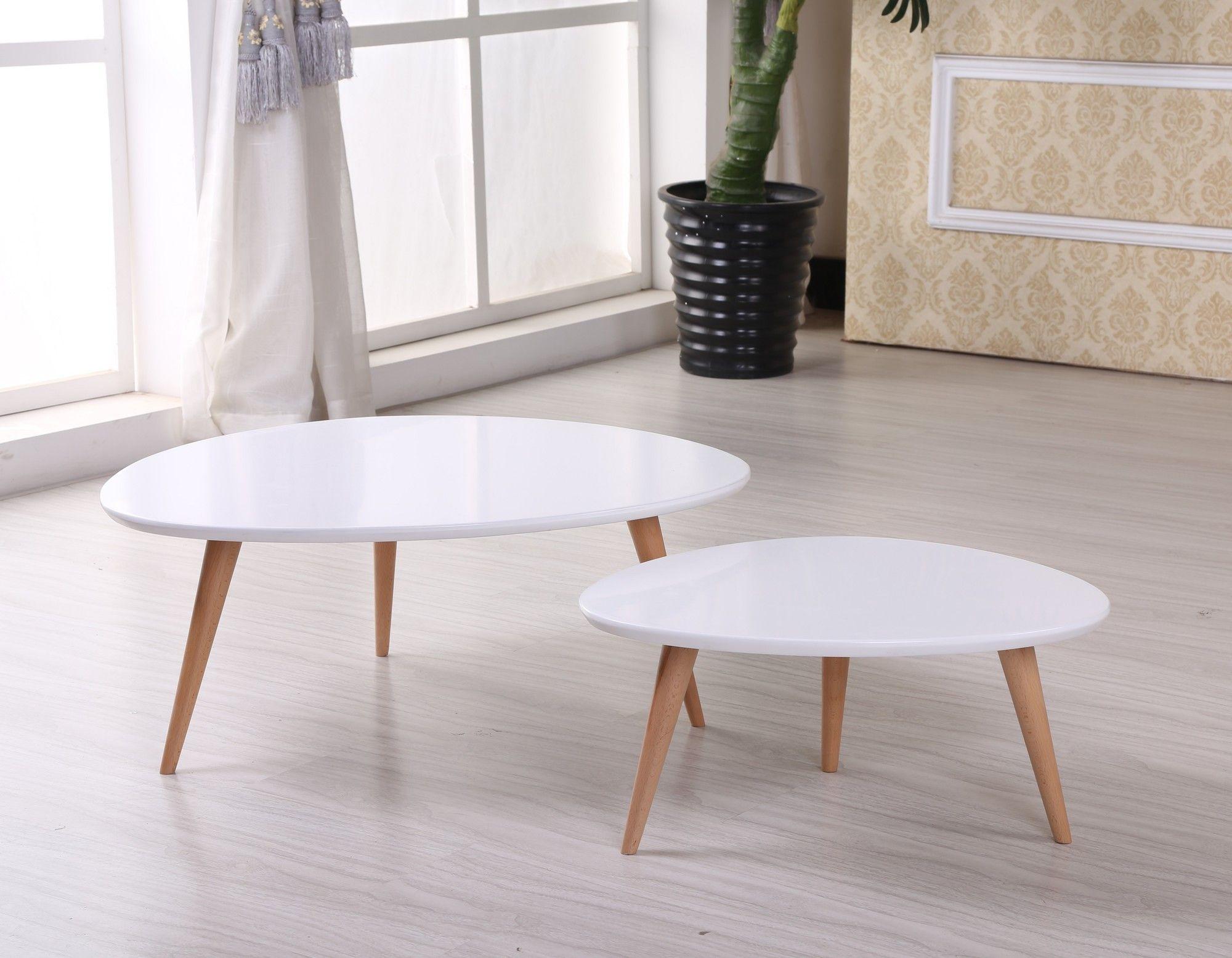 Isabella 2 piece coffee table set