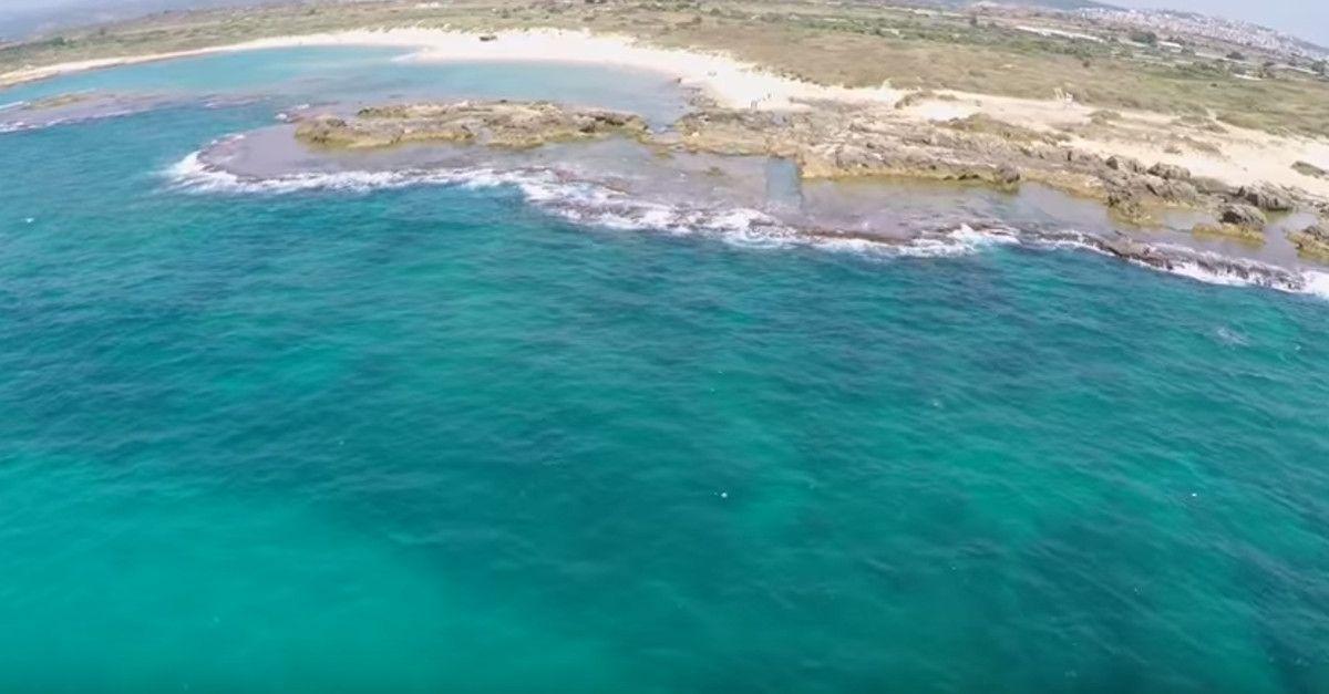 Beaches In Israel Beach Resort Nahsholim Aerial View Of Which