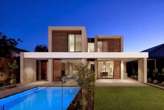 Fachadas de casas modernas im genes 14 casas pinterest - Dibujos de casas modernas ...