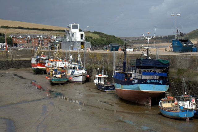 Padstow:  A once quiet little, fishing-port in Cornwall.