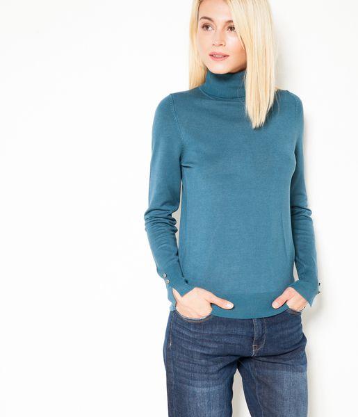 Les Pull Roulé Camaïeu Indispensables Col 2016 Bleu RAaBx8Aq