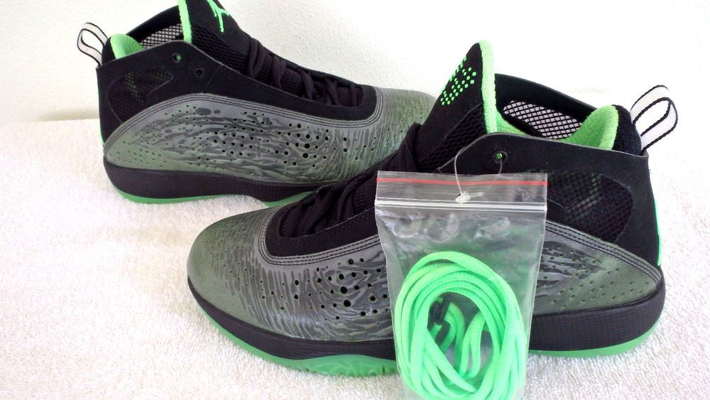 hot sale online 1417a ef1ac Nike Air Jordan 2011 Mens Mike Shoes Black Neo Lime (436771-003) Sneakers  SZ 9  Nike  BasketballShoes